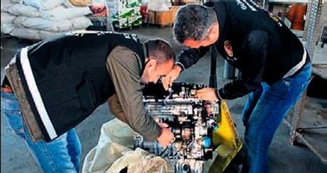 İzmir'de yedek parça operasyonu