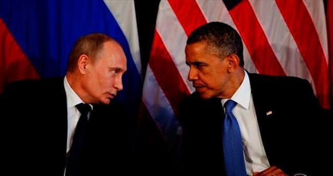 Putin ve Obama Suriye'yi konuştu