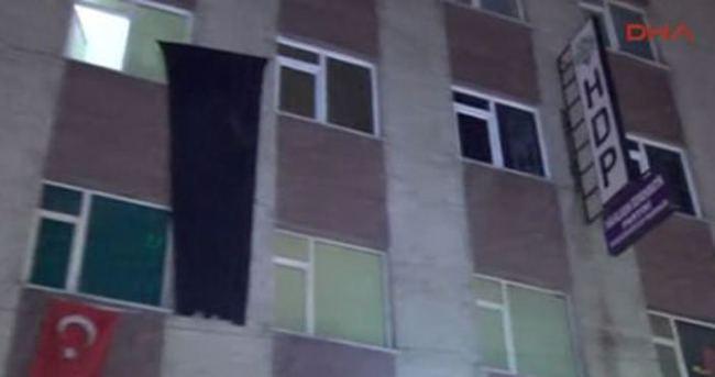 HDP binalarında arama yapıldı