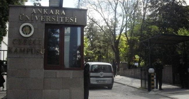 Ankara Üniversitesi'nde 11 gözaltı