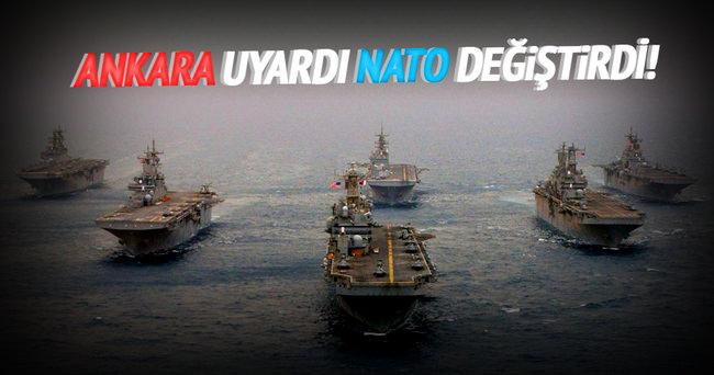 Ankara tepki gösterdi, NATO isimleri değiştirdi