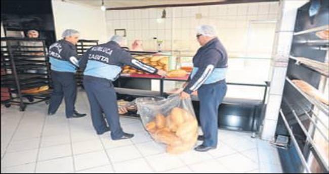 Eksik gramajlı ekmek ürettiler
