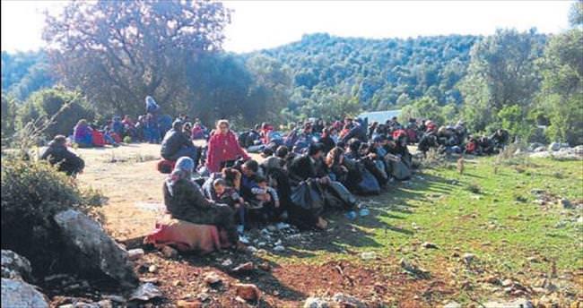 92 kaçak ve 8 insan kaçakçısı yakalandı