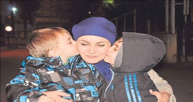 Rus annenin en mutlu anı