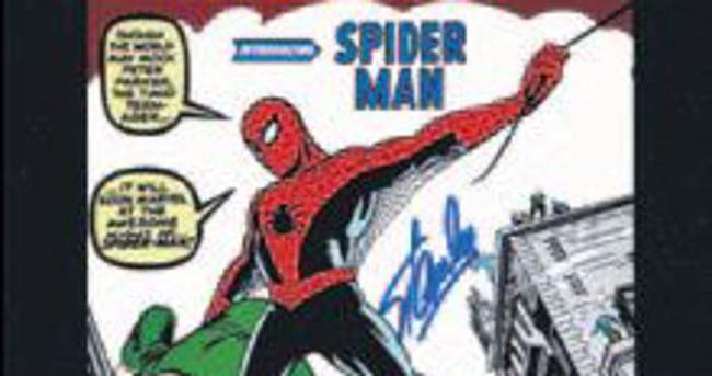 İlk 'Örümcek Adam' 400 bin $'a satılıyor