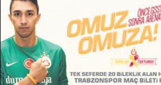Bilekliği alan Trabzon maçına girer