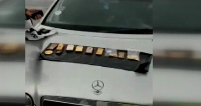 İstanbul'da 33 kilo külçe altınla yakalandılar!