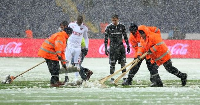 Beşiktaş ile Mersin İdman Yurdu 85 dakika oynayacak