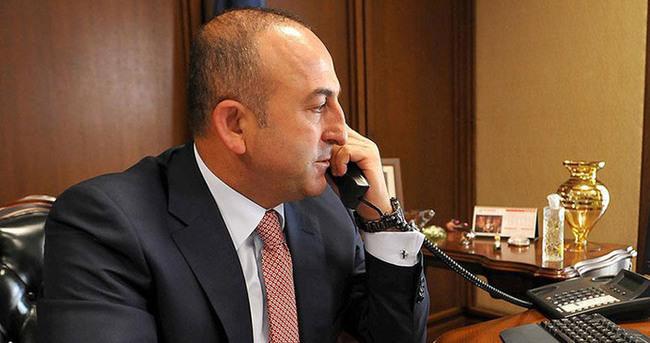 Dışişleri Bakanı Fransa Dışişleri Bakanı ile görüştü!