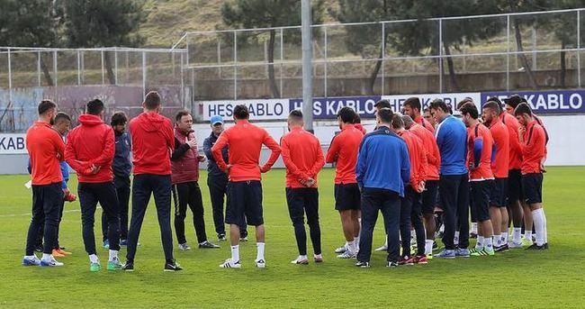 Trabzonspor Galatasaray maçı hazırlıklarına başladı