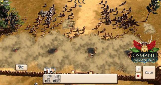 'Osmanlı savaşları' oyun oldu