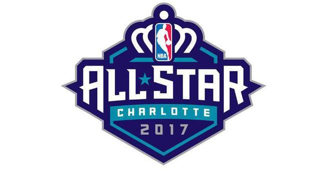Kraliçe Charlotte'ın tacı NBA All-Star'ın logosunda