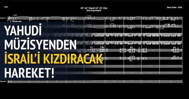 Yahudi müzisyenden Mavi Marmara bestesi