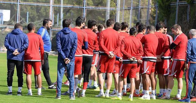 Mersin İdmanyurdu Beşiktaş maçına hazır