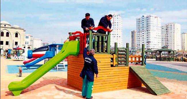 Şahinbey'de bütün parklar onarılıyor