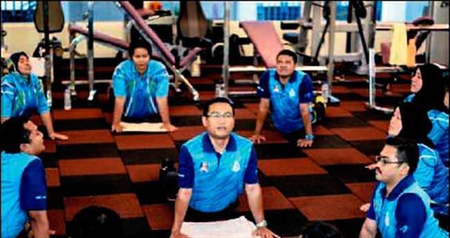 Çok kilolu polislere mecburi spor görevi