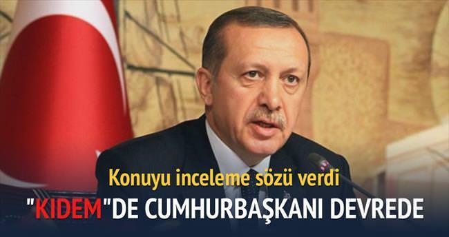 Cumhurbaşkanı Erdoğan'dan kıdem çağrısı