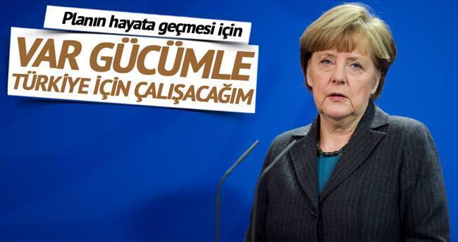 'Türkiye ile varılan mülteci anlaşması için çalışacağım'