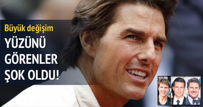 Tom Cruise'un yüzüne ne oldu