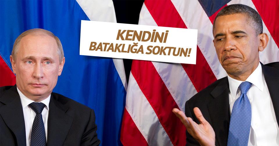 Obama: Rusya kendini bataklığa soktu