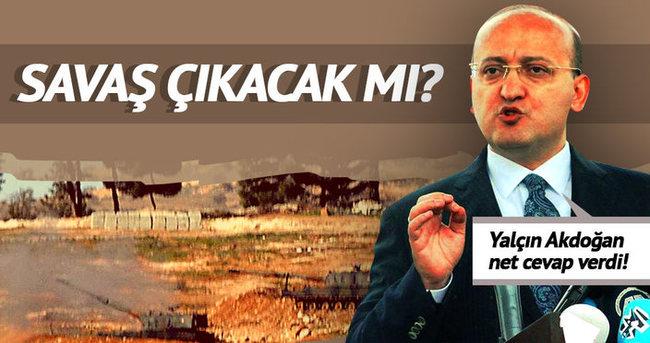 Yalçın Akdoğan'dan önemli açıklamalar