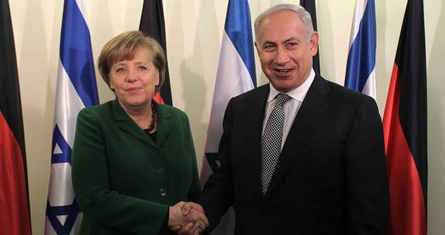 Netanyahu'nun Merkel'den yardım talep ettiği iddiası