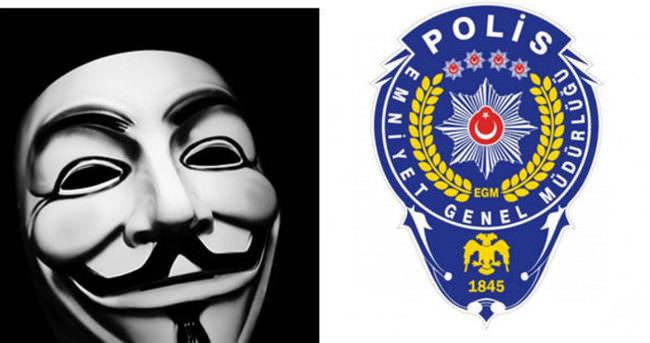 'Anonymous, Emniyeti hackledi' yalanına dikkat