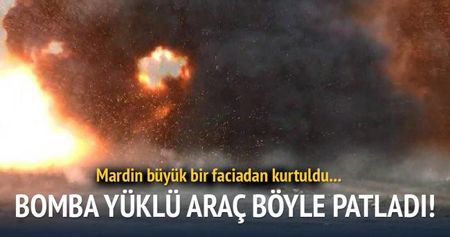 Mardin büyük bir faciadan dönüldü!