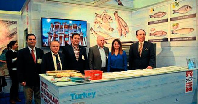 Almanların tercihi hazır Türk balığı