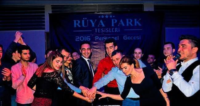 Rüya Park yöneticileri personeliyle buluştu