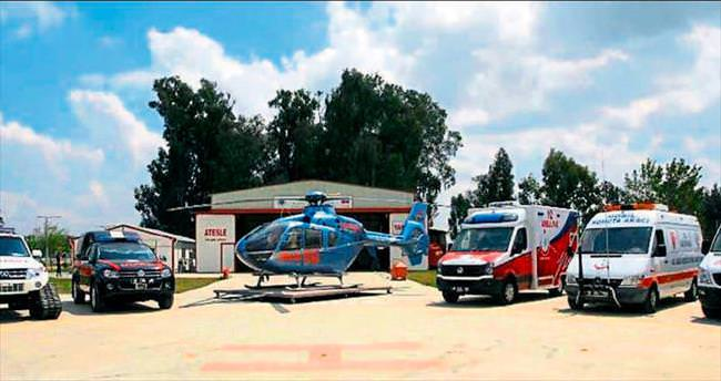 Adana 112'ye 17 ambulans