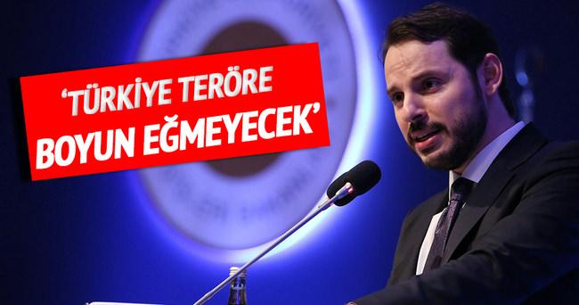 Albayrak: Türkiye teröre boyun eğmeyecek