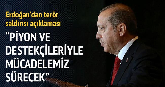 Cumhurbaşkanı Erdoğan: Meşru müdafaa hakkımızı kullanırız