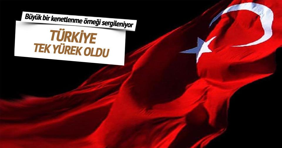 Türkiye tek yürek oldu: Ben Türkiye'yim