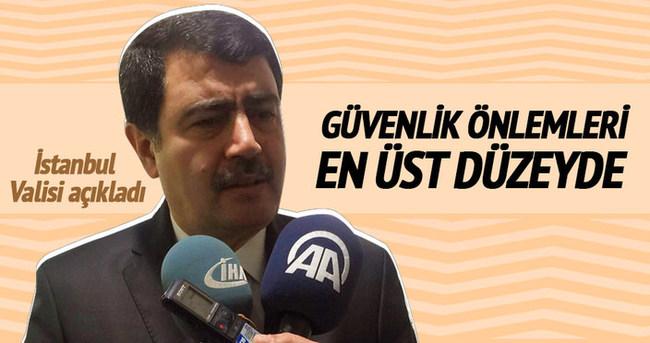 İstanbul'da güvenlik en üst düzeyde