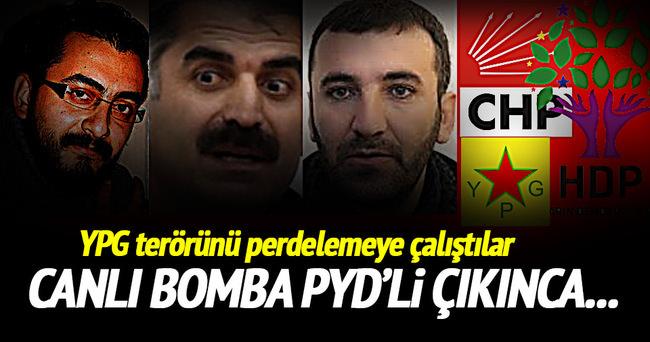 CHP ve HDP, YPG terörünü perdelemeye çalıştı