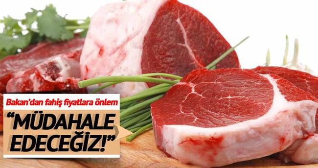 Bakan Çelik: Et ve Süt Kurumu, ete müdahale edecek