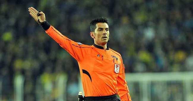 İşte Galatasaray-Trabzonspor maçının hakemi