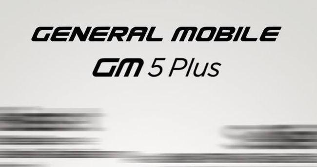 Yeni General Mobile telefonu göründü!