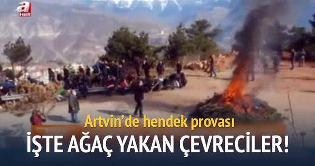 Artvin'de 'Gezi' tipi provokasyon