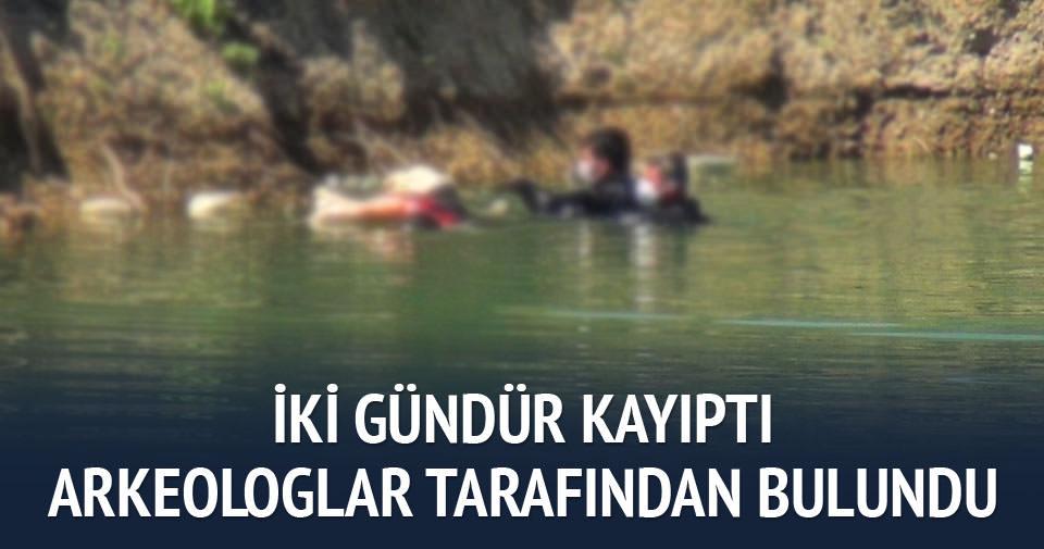 Kazı yaparken gölette ceset buldular