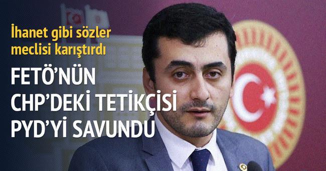 FETÖ'nün CHP'deki tetikçisi PYD'yi savundu