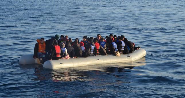 518 kaçak göçmen yakalandı