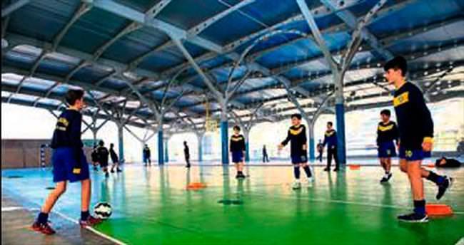 Futbolun yıldızları Betontaş'ta yetişecek