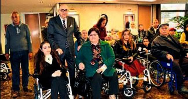 MOSB, engellilere yardım elini uzattı