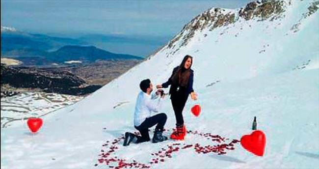 Romantizmde zirve yaptılar