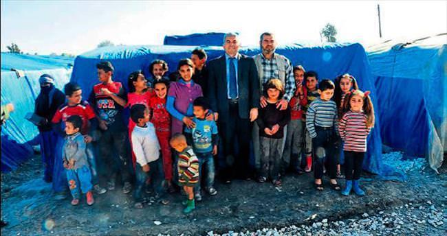 Tarsus Kaymakamı Suriyelileri dinledi