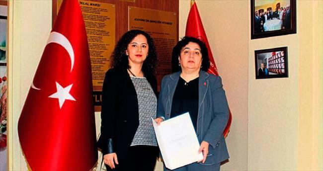 Dr. Ebru Ünal'dan şehit ailelerine destek