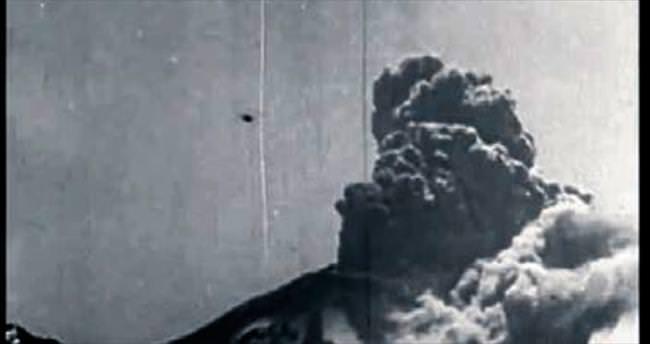 Tarihteki ilk aktif volkan videosu