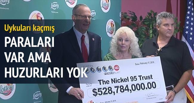 528 milyon dolarları var: Para bi·zi· deği·şti·rmez